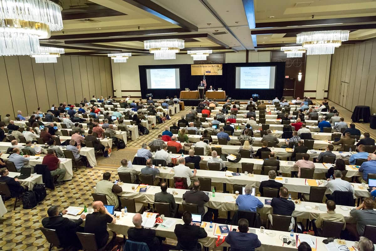 Sold Out Crowds at the NRA Foundation's Annual National Firearms Law Seminar