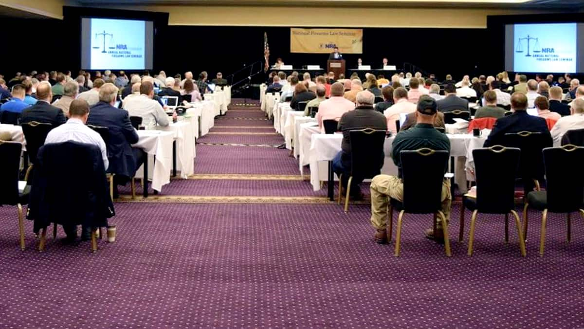 Large Audience at the NRA Foundation's Annual National Firearms Law Seminar