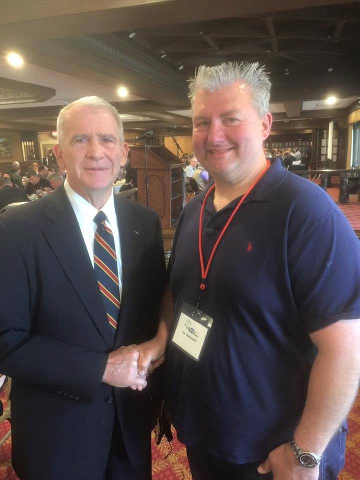 Lt. Colonel Oliver North at the NRA Foundation's Annual National Firearms Law Seminar